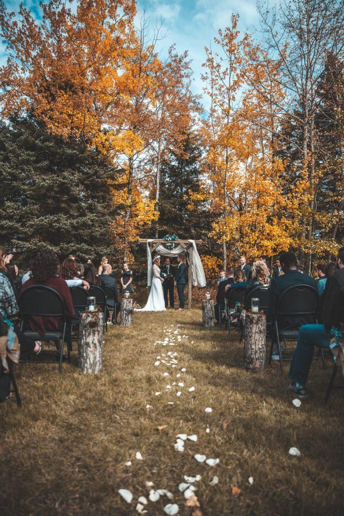 organizacja wesela jesień
